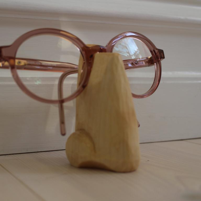 Glasögonhållare näsa